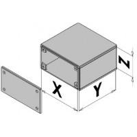 Box enclosure with door EC30-4xx