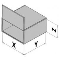 Box enclosure with door EC30-8xx